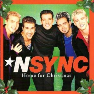 NSYNC-Home_for_Christmas_(album_cover)