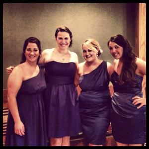 The bridesmaids...these girls made the weekend so much fun!