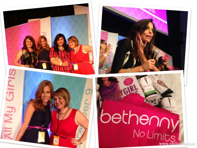 This is a Girls Night Out! (swag bag courtesy of the Bethenny team!)