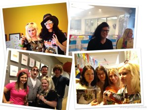 Ke$ha, Slash, Skrillex, Orange is the New Black...just some of the many costumes (and awesome coworkers)