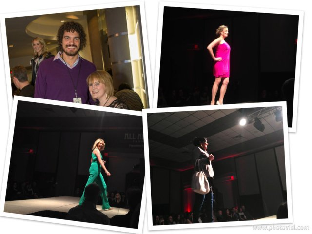 Oh you know, just hanging with Andy V. on a Wed. night and check out my model friends (Kat Boyd, Carrie and Anna!)
