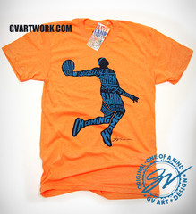 GV Art and Design. Purchase here: http://gvartwork.myshopify.com/products/nothing-is-given-everything-is-earned-t-shirt