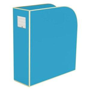 semikolon-turquoise-magazine-file-box