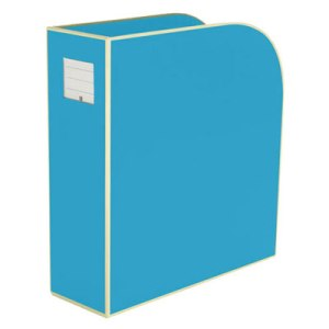 semikolon-turquoise-magazine-file-box