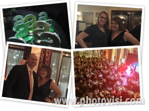 We won a few ADDYs (20!), I got to hang with Jen and my co-chair Anthony at the After Party and that's a sell-out crowd!